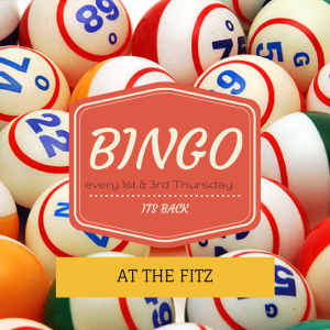 BINGO at The Fitz Elsecar
