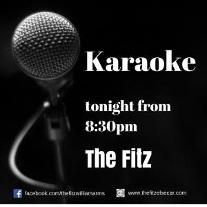 Karaoke at The Fitz